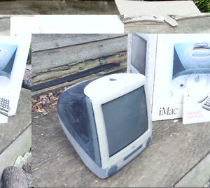 Original iMac computer from 1998 mint condition!