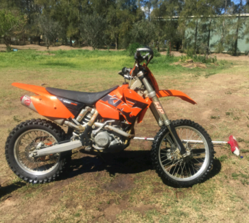 Tidy ktm 450 exc Pitt Town Hawkesbury Area Preview