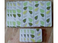 SET OF PLACEMATS & COASTERS