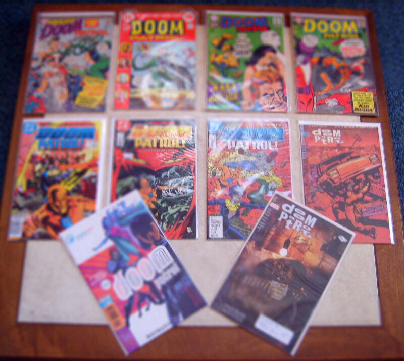 LOT 10 DOOM PATROL COMICS 1966-1997 SIGNED RACHEL POLLACK - WEDDING #104 - MORE!