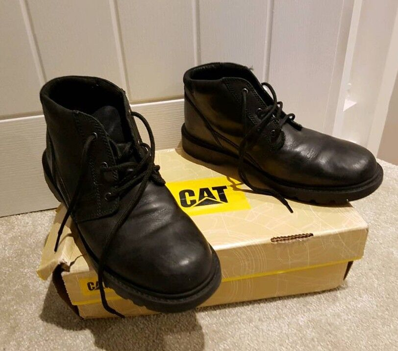 Caterpilla Black Boots Size 10 wide