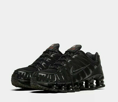 Nike Shox TL Trainers in Black UK Sizes 6 - 10 **FAST AND FREE DELIVERY**