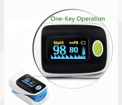 Finger Tip Pulse Oximeter Spo2 Heart Rate Monitor Blood Oxygen Sensor Oled
