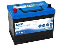 Exide ER350 - 80AH Dual Marine & Leisure Battery