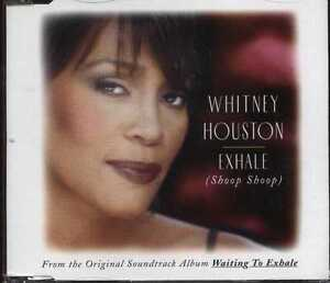 WHITNEY HOUSTON UK 1995 CD Single EXHALE 7432133247.2       NEW