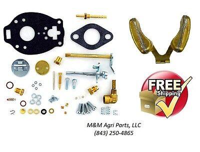 Complete Carburetor Kit Float Ih Farmall A Av B Bn C Super A Super C Tractor