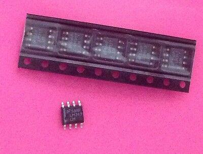 Lot Of 5 National Semi Lm317lm Adj Voltage Regulator So8 Pkg 100ma 1.2-37v