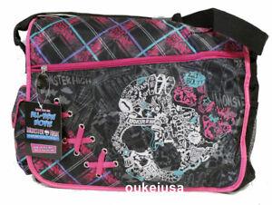 Monster High Messenger Bag Cleo de Nile Deuce Gorgon Girl Bag NEW