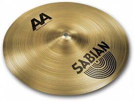 """aa 16""""rock crash cymbal , new"""