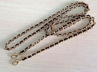 Chain & REAL Leather Shoulder Crossbody Bag/Handbag/Purse Strap Replacement DIY