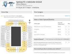 Sydney FC v Adelaide United Sydney City Inner Sydney Preview