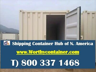 Tri Door3d - 40hc New One Trip Shipping Container In Chicago Il
