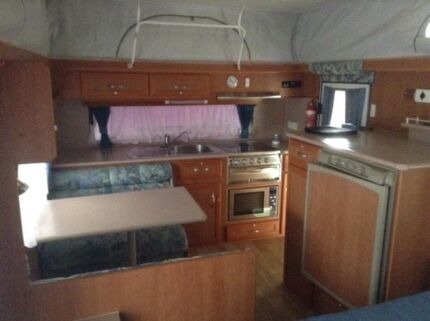 2007 majestic knight caravan great condition Myrtleford Alpine Area Preview