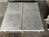 Rivet Edge Concrete Paving Slabs 600x600