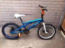 silverfox duel Bmx bike