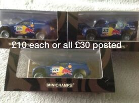 OFFER ON 3 OR more MINICHAMPS HOTWHEELS SUNSTAR 1:18 & 1:43