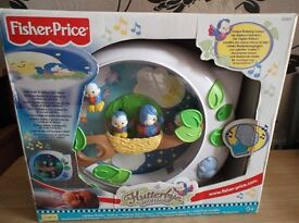 Fisher-Price Flutterbye Birds Crib Soother cot