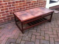 Vintage/ Retro G Plan style tiled top Coffee Table