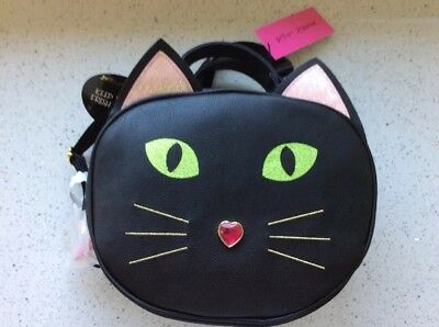 Betsey Johnson Kitty Cat Halloween Insulated Lunch Tote Bag Crossbody](Halloween Kitty Cat Cupcakes)