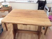 Wooden Conservatory table