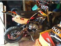 Demon x 140 pitbike crf70