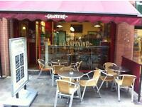 Experienced staff required for busy city centre cafe/sandwich bar