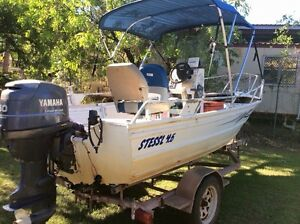 Stressl 4.6 aluminium boat with Yamaha 50 four stroke Kununurra East Kimberley Area Preview