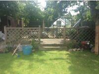 Garden Decking area