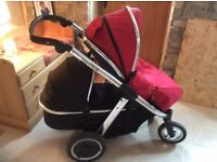 Oyster max 2 double pram (CAN POST)