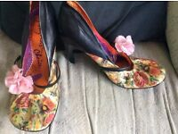 Irregular choice heels size 7