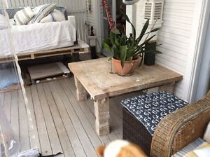 Square coffee table 100x100x50cmH Avalon Pittwater Area Preview