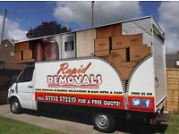 Rapid Removals - Affordable & Experienced Home Movers and Man with a Luton Van Services.