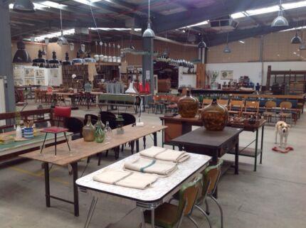 Platform No.5. Vintage industrial furniture, lighting & homewares.