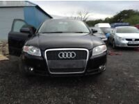 2005 Audi A4 b7 2.0 tdi BLB Saloon Black BREAKING FOR PARTS SPARES