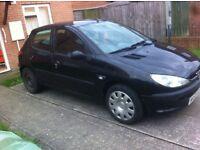 2003 peugeot 206 1.4 no mot hence price needs slight tlc £250.00 drive away