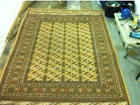 Large wool blend rug