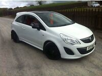2011 Vauxhall Corsa 52'000 Miles Unique Bodykit And Extras