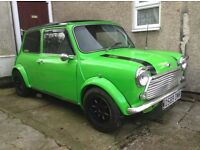 Austin Mini 998 Project 99% Done Classic Mini !