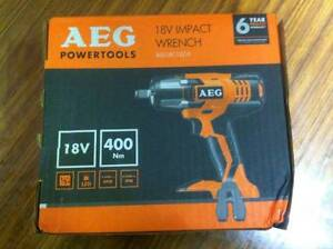 AEG 18V Cordless Impact Wrench - Skin Only Fitzroy Yarra Area Preview