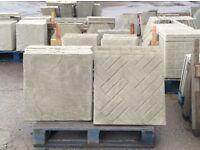 Concrete paving slabs 600 x 600