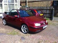 VOLKSWAGEN GOLF MK4 1.6 AUTOMATIC Convertible Tax MOT 16 October 2016 READY TO DRIVE