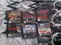 PS1 games some rare (resident evil)