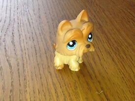 Littlest Pet Shop Westie Scottish Terrier Figure