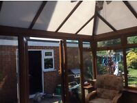 Edwardian pvc conservatory great condition