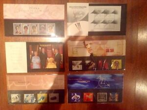 (lot 3) timbres du millenaire grande-bretagne
