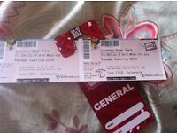 x2 adult weekend kendal calling tickets + general camping