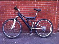 Large full suspension bike, 20 inch frame