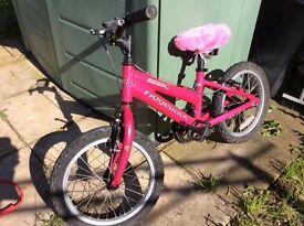 Children's bike and helmet