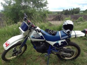 1987 dr200 mint shape no rush to sell