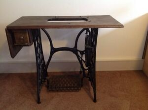 Early Singer sewing machine table Nicholls Gungahlin Area Preview
